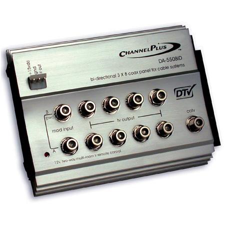 Channel Plus 3x8 Multiroom Distributor for CATV