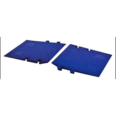 Cross Guard ADA Ramp Attachments for Guard Dog GD3-DO. Blue