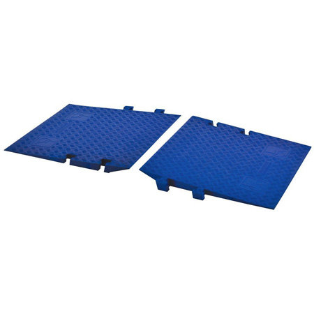Cross Guard ADA Ramp Attachments for Guard Dog GD5X125 - 3 Foot - Blue