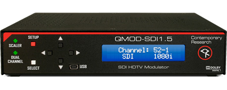 Contemporary Research QMOD-SDI1.5 HD-SDI Modulator