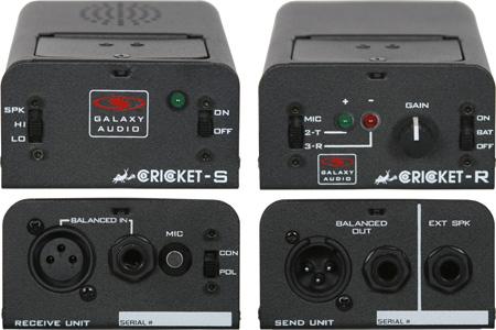 Galaxy Audio Cricket CPTS XLR Audio Polarity Continuity Test Set