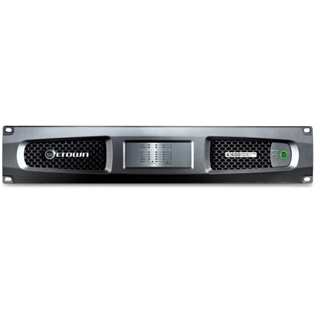 Crown DCI 4/600 600W 4-Channel DriveCore Install Analog Amplifier