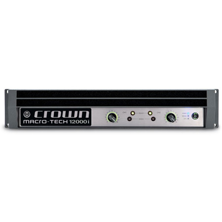 Crown MA12000I Professional Stereo Power Amplifier (2100W/Channel @ 8 Ohms)