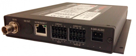 Artel FiberLink 3396-B7S Bidirectional 3G-HD/Audio/Ethernet/Data Singlemode 2 Fiber Box with ST Connectors - Tranceiver
