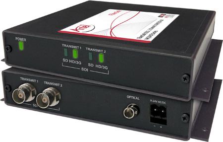 Artel FiberLink 3512-B3L-NA Multimode 2-Channel 3G-HD w/4K/UHD Support Fiber Box with LC Connectors - Transmitter