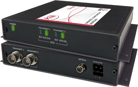 Artel FiberLink 3513-B3S-NA Multimode 2-Channel 3G-HD w/4K/UHD Support Fiber Box with ST Connectors - Receiver