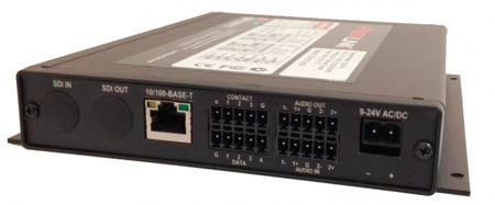 Artel FiberLink 5200-C7S Singlemode Bidirectional Audio/ Ethernet/ Data & CC Card with ST Connectors - Transmitter