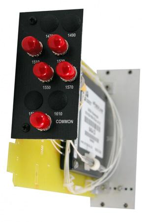 Artel FiberLink 6408-CS Passive Optical 2-slot 8-Channel CWDM Card with ST Connectors - Singlemode Only