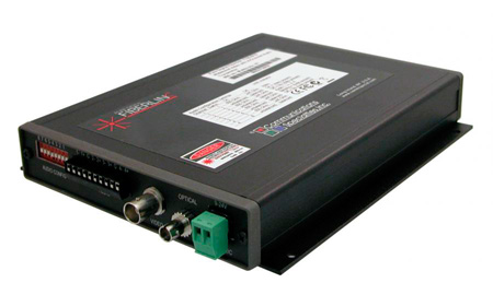 Artel FiberLink 7131-B3S 1310nm Multimode 15MHz Wideband Video & 4 Channel Audio Box with ST Connectors - Receiver