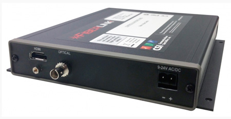 Artel FiberLink 7601-B7S Routable HDMI over One Fiber with HDCP Support - Box with ST Connectors - Receiver