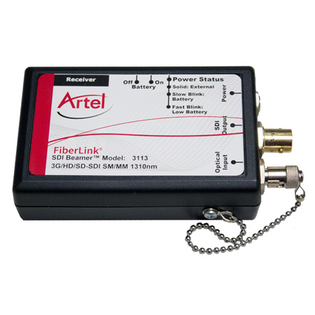 Artel FiberLink 3115-NA SDI Beamer 3G/HD/SD-SDI over Fiber Extender Tx/Rx Kit