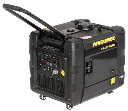 Powerhouse PH3100Ri 3000 Running Watts Gas Powered Portable Inverter Generator CARB Compliant