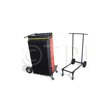 Checkers Industrial CT4W-ST Ramp-Runner 4 Wheel Standard Transport Cart