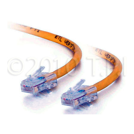35ft Cat5E 350 MHz Assembled Patch Cable - Yellow