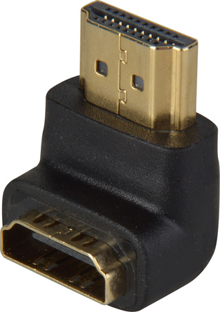 HDMI Port Saver (Male to Female) - 90 Degree