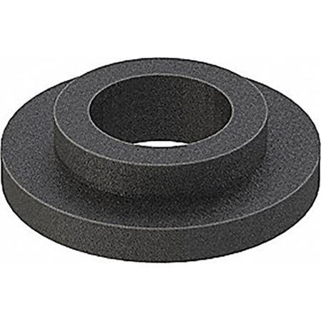 100pc Bag of Black Nylon Shoulder Washers