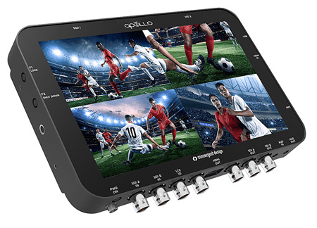 Convergent Design Apollo Multi-Stream Monitor/Recorder/Switcher