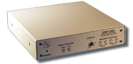 Compu-Video Systems DSP-1200 Time Based Correcting Color Screen Splitter