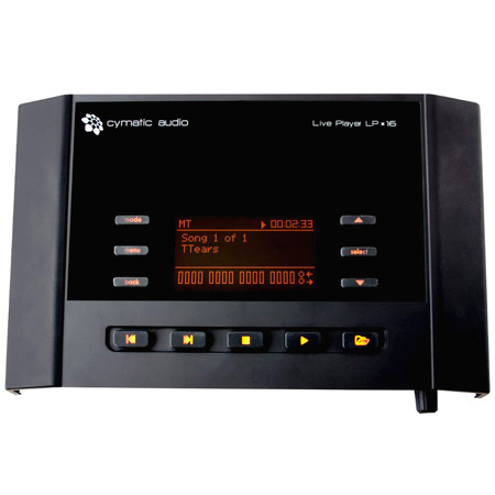 Cymatic LP-16 16-Track USB Live Player / Playback System