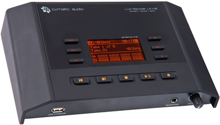 Cymatic LR-16 16-Track Direct to USB Live Recorder