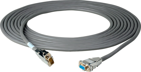 15-Pin Hi-Density Male to Female VGA Cable 6 Foot