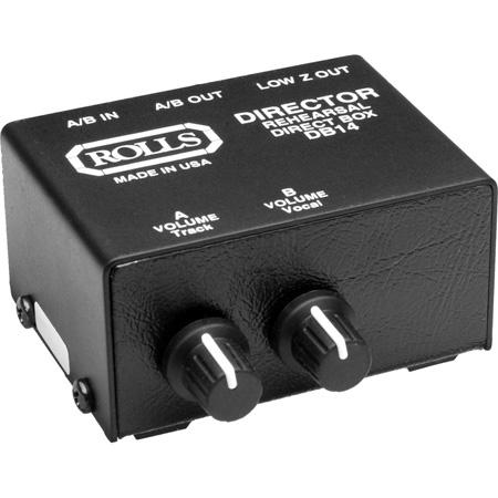 Rolls DB14b AV Presenter Stereo Patch Box