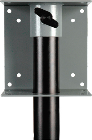 Delvcam Speaker Stand Pole Mount for Flat Panel TVs & Monitors