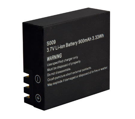 Delvcam Replacement Battery for the SPORTSCAM-1 & SPORTSCAM4K
