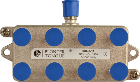Blonder Tongue DGT-8 Digital Ready Directional Tap 8 Output 17dB