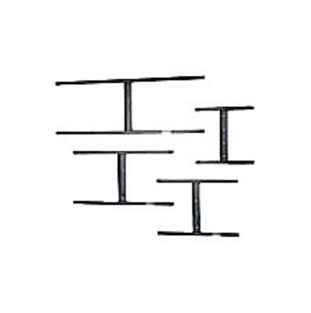 Da-Lite 4042 D24 Wall Bracket Spans Two 24 Inch Studs