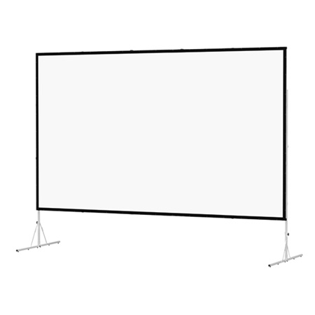 Da-Lite 88612K Fastfold 6X8 Mat Screen with Black Frame