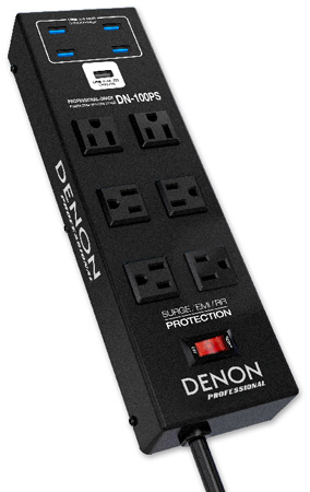 denon dn100ps power strip and 4port usb 30 hub
