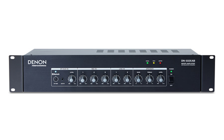 Denon DN-333XAB 6-Channel Line Mixer Amplifier with Bluetooth