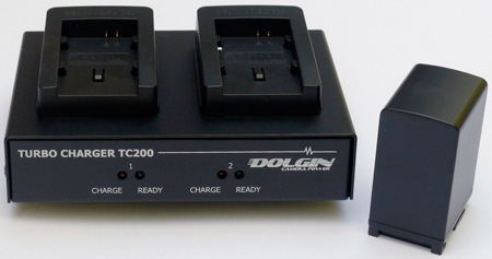 Dolgin TC200-CAN-BP-827 2-Position Battery Charger for Canon VIXIA