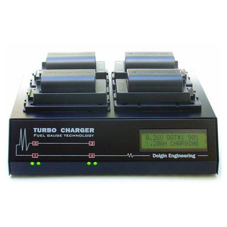 4 Position Charger with TDM - Canon BP-97X