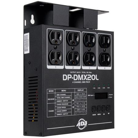 ADJ  DP-DMX20L 4 Channel DMX Dimmer Pack