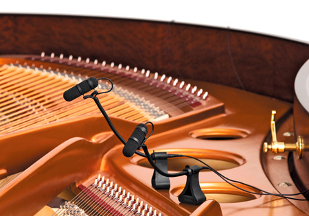 DPA VO4099P d:vote4099 Instrument Mic Kit Supercardioid Piano