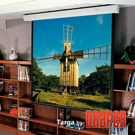 Draper 116011 Targa Motorized Projection Screen (9 x 12ft)