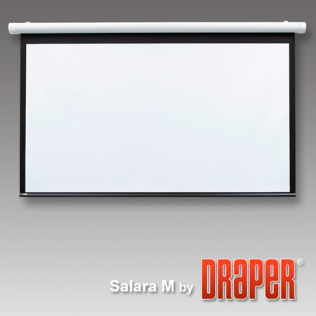 Draper 136103 Salara/Plug and Play Electric Projection Screen