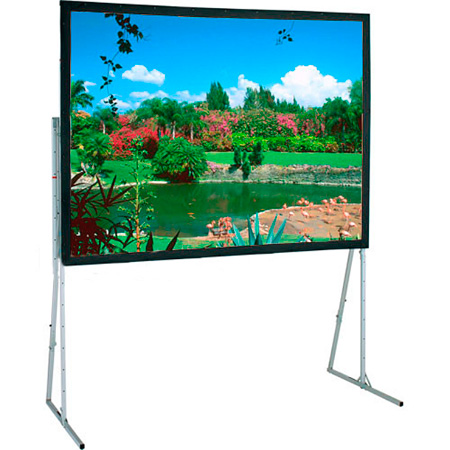 Draper 241009 10 Ft. NTSC Flexible Matt White Ultimate Folding Screen
