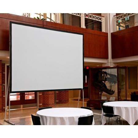Draper 241037 133 Inch HDTV Ultimate Folding Screen w/Heavy-Duty Legs