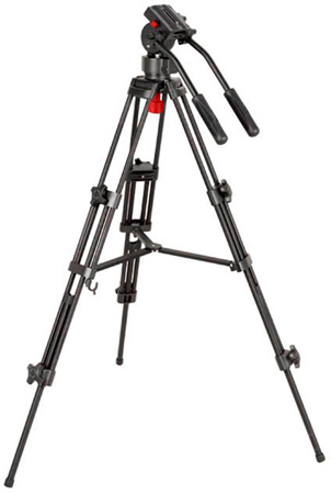 Dracast DVT-PRO-1 Tripod w/ True Fluid Head 75mm Ball