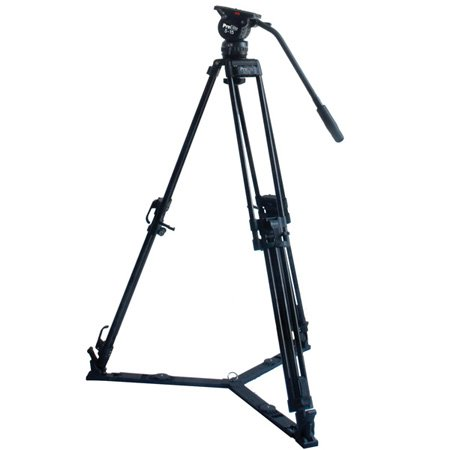 Davis & Sanford PE5075-15 ProElite 75mm 2-in-1 Video Tripod with 5-15 Fluid Head