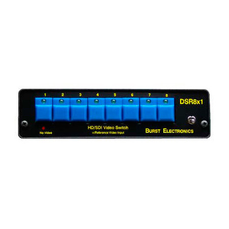 DSR8x1 Digital Switcher used with RC8x1