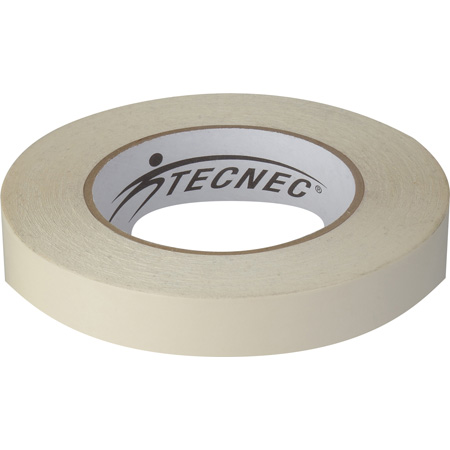TecNec DSGT-2X25-WE Double Sided Gaffers Tape - 2 Inch x 25 Yards - White