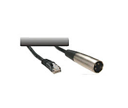 DSan KES-882 Male XLR to Modular Cat 5 Jack