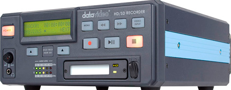 Datavideo HDR-60 HD/SD-SDI Recorder w/ One 320 GB HDD