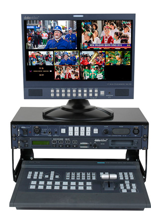 Datavideo SE2200SK Studio Kit - Includes SE-2200 Switcher & ITC-100 for 4 Users & HDR-70