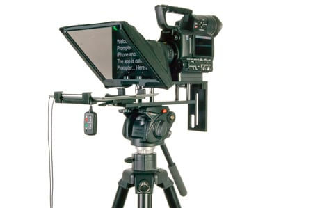 DataVideo TP300 PK Teleprompter Package - Includes TP300-B and HC-300 Case