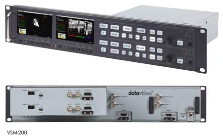 Datavideo VSM200 1500VA Dual Sampling Video Scope - Waveform Monitor